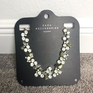 Zara Bejeweled Necklace